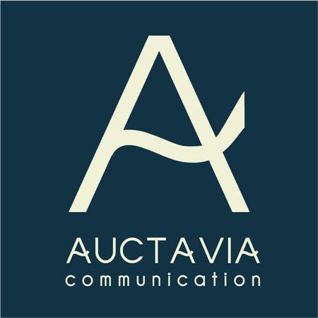 Logo agence de communication auctavia