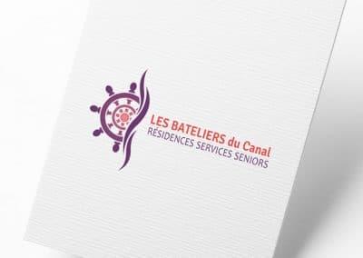 Logo Les Bateliers du canal